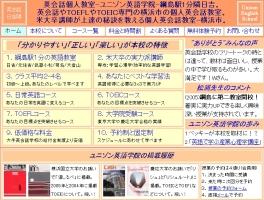 ユニゾン英語学院 横浜綱島教室